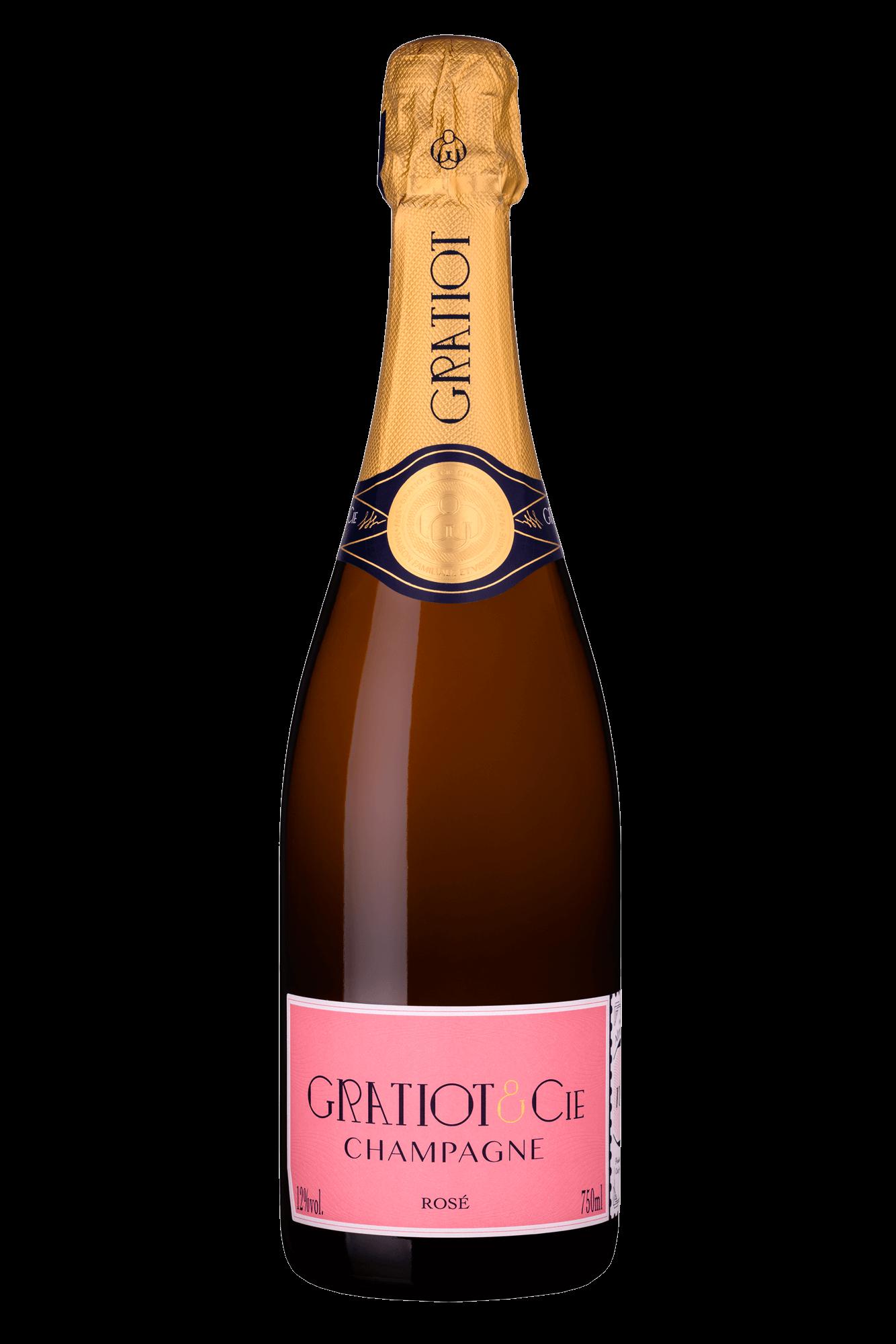 Champagne Rosé nouveau - Gratiot & Cie